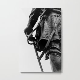 Hold on to the sword Metal Print