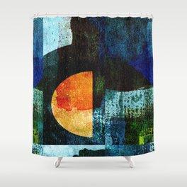 Half Moon Serenade Shower Curtain