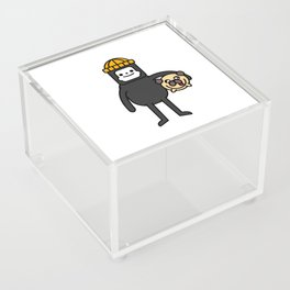 LILINTROVERT and Pudgy Acrylic Box