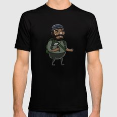 Tyreese Mens Fitted Tee Black LARGE
