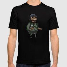 Tyreese Black MEDIUM Mens Fitted Tee
