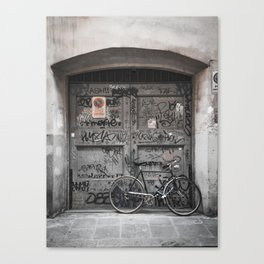 Bicycles Of Tuscany10 Canvas Print