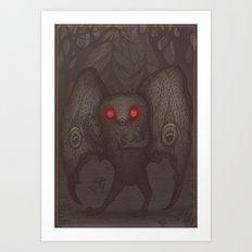 Mothman Art Print