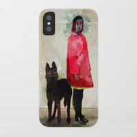 ghost iPhone & iPod Cases featuring Ghost by Feline Zegers