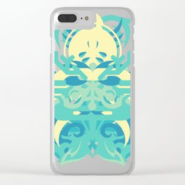Abstraction Twenty-Nine Neptune Clear iPhone Case