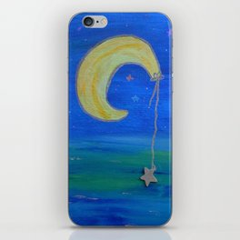 The Moon And Its Star iPhone Skin