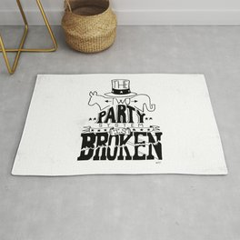Two Party System Rug