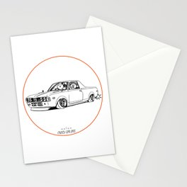 Crazy Car Art 0212 Stationery Cards