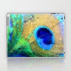 abstract peacock Laptop & iPad Skin