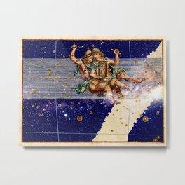 Gemini - Uranometria Collection Metal Print