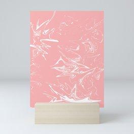 dream on pink Mini Art Print