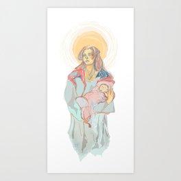 Innocent Aeolus  Art Print