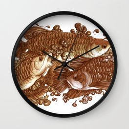 Lucky Giants Wall Clock