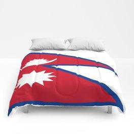 flag of nepal-nepal,buddhism,Nepali, Nepalese,india,asia,Kathmandu,Pokhara,tibet Comforters