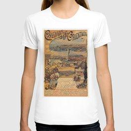 Oriental railways to Constantinople T-shirt