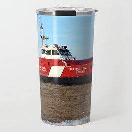 Hovercraft on the Beach Travel Mug