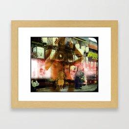 Culture Clash #4 Framed Art Print