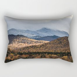 Mount Mansfield, Vermont Rectangular Pillow