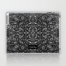Piccadilly Circus Black & White Laptop & iPad Skin