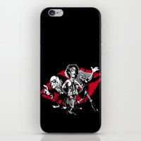 rocky horror iPhone & iPod Skins featuring Rocky Horror Gang by Billy Allison