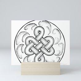 Celtic Knot Bauble Mini Art Print
