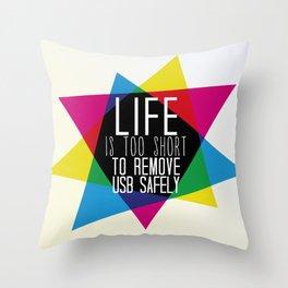 USB Throw Pillow