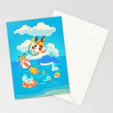 Splash Attack Stationery Cards