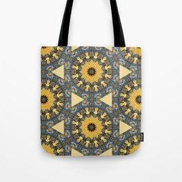 Rust-Art / mandala-style-rust Tote Bag