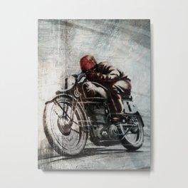 Speed Metal Print