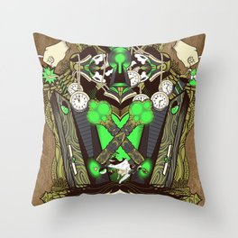 Molly Can't Make Up Her Mind Throw Pillow