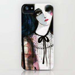 Helena Portrait iPhone Case