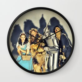 The Cast Wall Clock