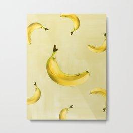 el fruto del banano es sano Metal Print