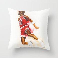 Jordan dunk Throw Pillow