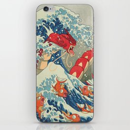 The Great Red Wave I iPhone Skin