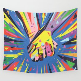 Band Together - Pride Wall Tapestry