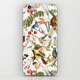 Floral and Birds XXXII iPhone Skin