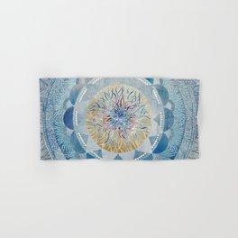 Winter's Thaw Mandala Hand & Bath Towel