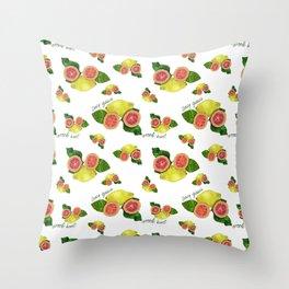Juicy Guava Throw Pillow