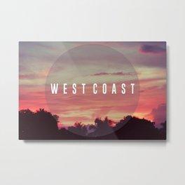 West Coast Metal Print