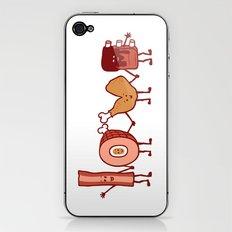 Meat Love U iPhone & iPod Skin