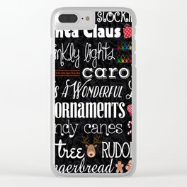 It's Christmas Time Clear iPhone Case