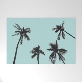 Palm trees 5 Welcome Mat