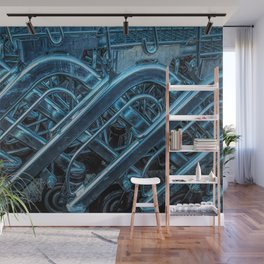 Shopping Trollies Wall Mural