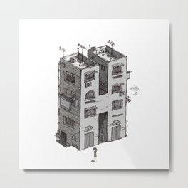 H - Alphabet Town Metal Print