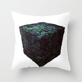 Borg Cube Throw Pillow