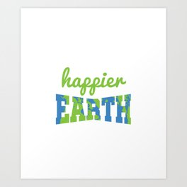 Reduce Reuse Recycle Art Print