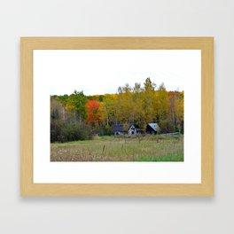 Old Homestead Framed Art Print