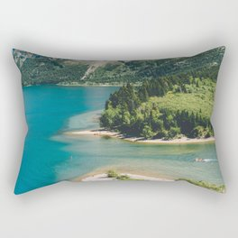 Upper Waterton Lake Rectangular Pillow