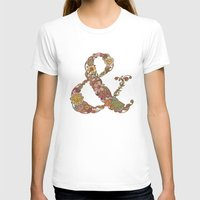 ampersand T-shirts featuring Ampersand by Valentina Harper